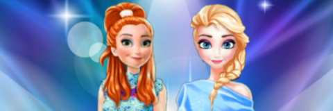 Anna e Elsa no Facebook