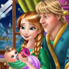 Jogo Anna e Kristoff Cuidam do Bebê