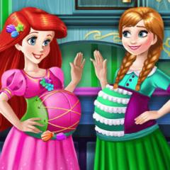 Jogo Ariel e Anna: Amigas Grávidas de Verdade