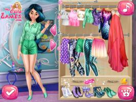 Ariel e Jasmine trocam suas Roupas - screenshot 1