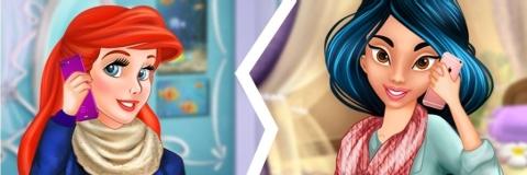 Ariel e Jasmine trocam suas Roupas