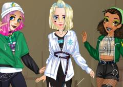 Ariel, Tiana e Elsa no Instagram