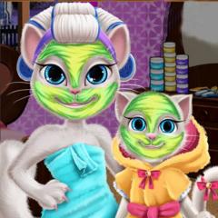 Jogo Arrume Angela e a Bebê