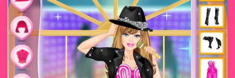Vista Barbie Estrela Pop