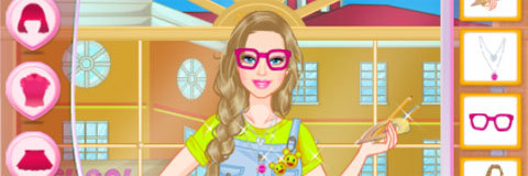 Vista Barbie Nerd