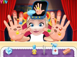 Bebê Elsa Machuca as Mãos - screenshot 1