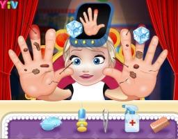 Bebê Elsa Machuca as Mãos - screenshot 2