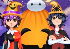 Celebre o Halloween com o Baymax