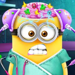 Jogo Cirurgia Cerebral no Minion