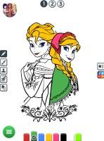 Colorir Desenhos da Frozen - screenshot 1