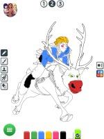 Colorir Desenhos da Frozen - screenshot 2