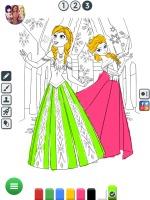 Colorir Desenhos da Frozen - screenshot 3