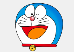 Colorir Doraemon