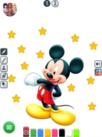 Colorir Mickey e Pato Donald - screenshot 1