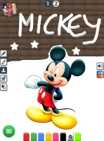 Colorir Mickey e Pato Donald - screenshot 2