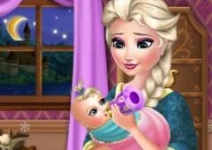 Cuide do Bebê de Elsa