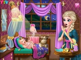 Cuide do Bebê de Elsa - screenshot 1