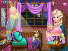 Cuide do Bebê de Elsa - screenshot 2
