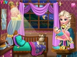 Cuide do Bebê de Elsa - screenshot 3
