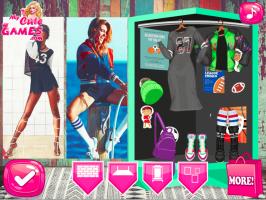Decore a loja de roupas da Elsa - screenshot 1