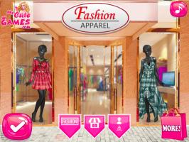 Decore a loja de roupas da Elsa - screenshot 2