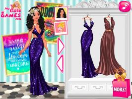 Decore a loja de roupas da Elsa - screenshot 3