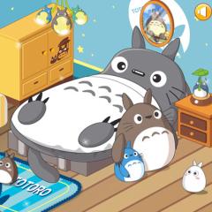 Jogo Decore o Quarto Totoro