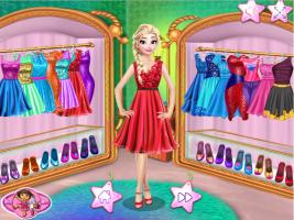 Elsa Compra Roupas Novas No Shopping - screenshot 1