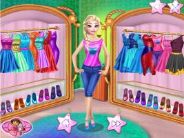 Elsa Compra Roupas Novas No Shopping - screenshot 2
