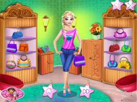 Elsa Compra Roupas Novas No Shopping - screenshot 3