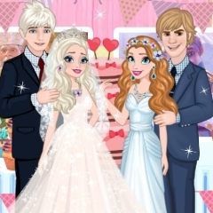 Jogo Elsa e Anna: Festa de Noivado