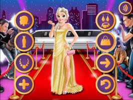 Elsa e Rapunzel no Tapete Vermelho - screenshot 2