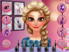 Elsa no Salão de Beleza - screenshot 1