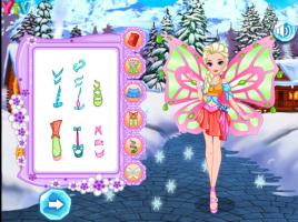 Elsa Se Veste de Fada Winx - screenshot 2