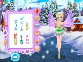 Elsa Se Veste de Fada Winx - screenshot 3