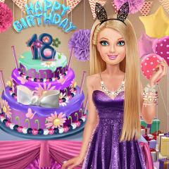 Jogo Festa de Aniversário de Barbie