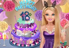 Festa de Aniversário de Barbie