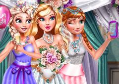 Frozen: Selfie Com a Noiva