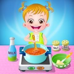 Jogo Hazel prepara Sopa na Cozinha