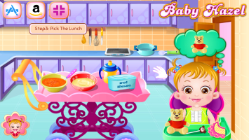 Hazel prepara Sopa na Cozinha - screenshot 3