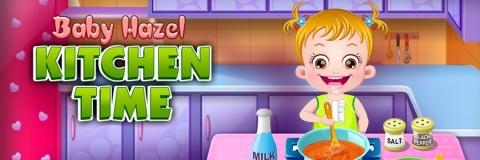 Hazel prepara Sopa na Cozinha