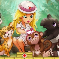 Jogo Hospital na Selva