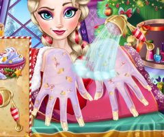 Manicure no Natal de Elsa - screenshot 1