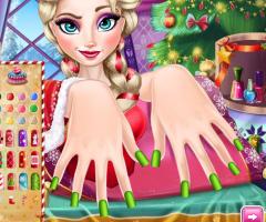Manicure no Natal de Elsa - screenshot 3