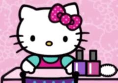 O Salão de Manicure da Hello Kitty