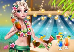 Princesa Elsa: Festa no Havaí