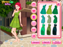 Princesas Disney: Vestidos Verdes - screenshot 1