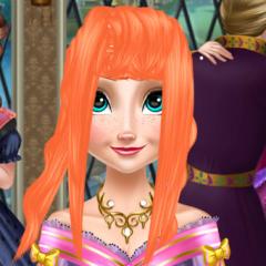 Jogo Salão de Cabeleireiro de Elsa