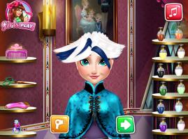 Salão de Cabeleireiro de Elsa - screenshot 2