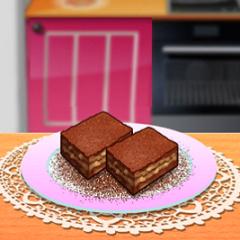 Jogo Sara Cozinha Brownie de Caramelo